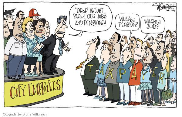 Cartoonist Signe Wilkinson  Signe Wilkinson's Editorial Cartoons 2010-08-05 unemployment