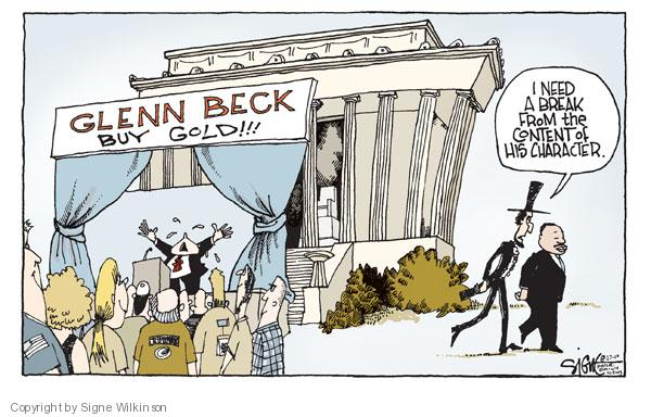 Signe Wilkinson  Signe Wilkinson's Editorial Cartoons 2010-08-27 Luther