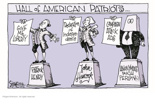 Signe Wilkinson  Signe Wilkinson's Editorial Cartoons 2010-09-24 patriotism