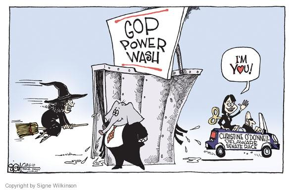 Signe Wilkinson  Signe Wilkinson's Editorial Cartoons 2010-10-06 GOP