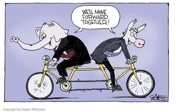 Signe Wilkinson  Signe Wilkinson's Editorial Cartoons 2010-11-05 partisan