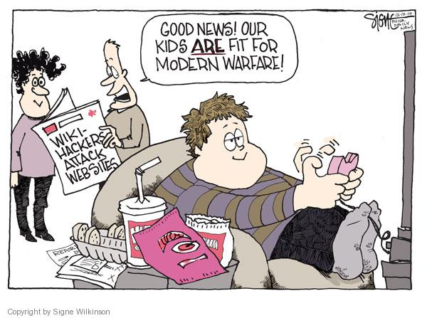 Cartoonist Signe Wilkinson  Signe Wilkinson's Editorial Cartoons 2010-12-10 video