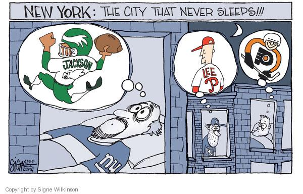 Signe Wilkinson  Signe Wilkinson's Editorial Cartoons 2010-12-20 baseball player