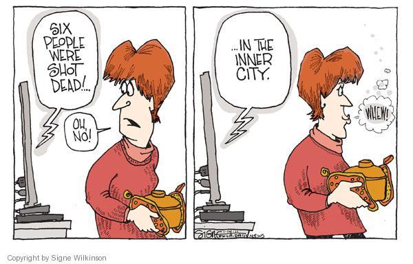 Signe Wilkinson  Signe Wilkinson's Editorial Cartoons 2011-01-14 handgun