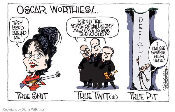Cartoonist Signe Wilkinson  Signe Wilkinson's Editorial Cartoons 2011-01-27 true