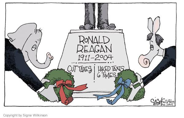 Cartoonist Signe Wilkinson  Signe Wilkinson's Editorial Cartoons 2011-02-07 2004