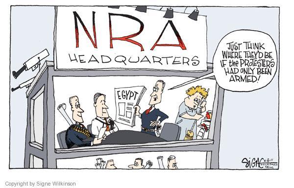 Cartoonist Signe Wilkinson  Signe Wilkinson's Editorial Cartoons 2011-02-08 political lobby