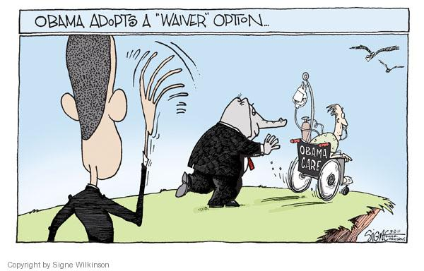 Cartoonist Signe Wilkinson  Signe Wilkinson's Editorial Cartoons 2011-03-02 health care reform