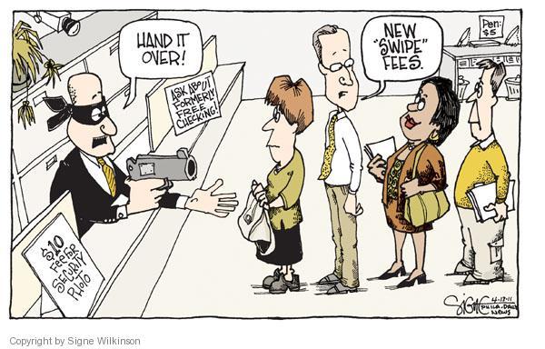 Signe Wilkinson  Signe Wilkinson's Editorial Cartoons 2011-04-13 $10