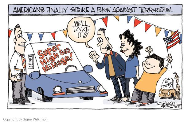 Cartoonist Signe Wilkinson  Signe Wilkinson's Editorial Cartoons 2011-05-09 strike