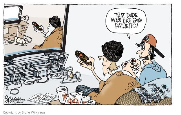 Cartoonist Signe Wilkinson  Signe Wilkinson's Editorial Cartoons 2011-05-10 terrorist