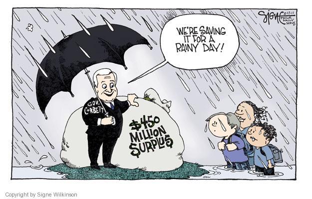 Signe Wilkinson  Signe Wilkinson's Editorial Cartoons 2011-05-17 day