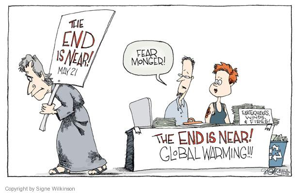 Signe Wilkinson  Signe Wilkinson's Editorial Cartoons 2011-05-22 environment
