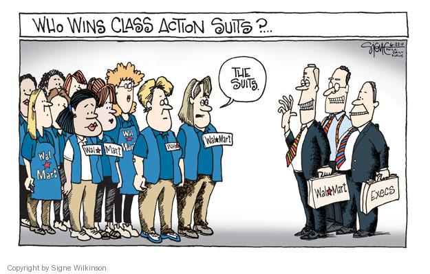 Cartoonist Signe Wilkinson  Signe Wilkinson's Editorial Cartoons 2011-06-22 gender discrimination