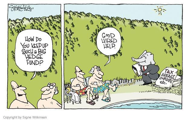 Signe Wilkinson  Signe Wilkinson's Editorial Cartoons 2011-07-01 economic