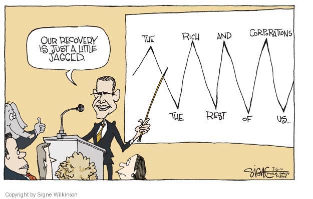 Signe Wilkinson  Signe Wilkinson's Editorial Cartoons 2011-07-06 economic