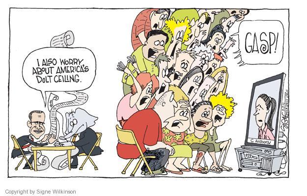 Signe Wilkinson  Signe Wilkinson's Editorial Cartoons 2011-07-07 economic