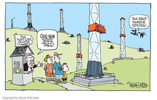 Cartoonist Signe Wilkinson  Signe Wilkinson's Editorial Cartoons 2011-07-08 cost