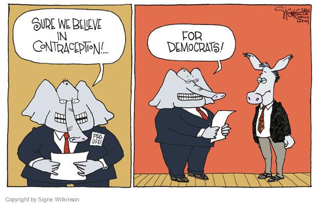 Signe Wilkinson  Signe Wilkinson's Editorial Cartoons 2011-07-22 choice