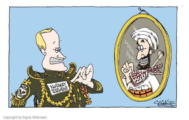 Cartoonist Signe Wilkinson  Signe Wilkinson's Editorial Cartoons 2011-07-27 similarity