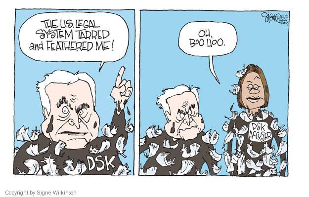 Signe Wilkinson  Signe Wilkinson's Editorial Cartoons 2011-08-01 rape