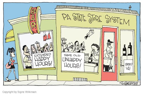 Signe Wilkinson  Signe Wilkinson's Editorial Cartoons 2011-08-04 political system