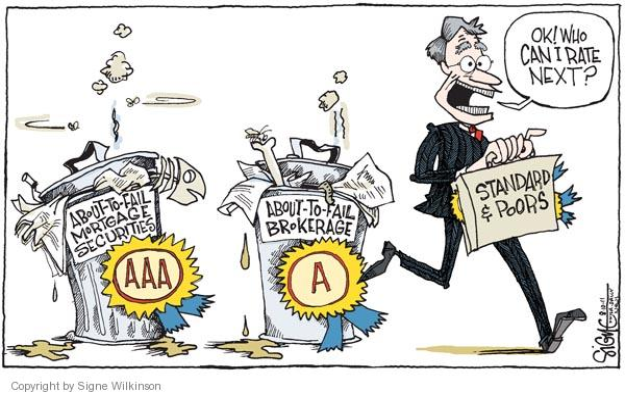 Signe Wilkinson  Signe Wilkinson's Editorial Cartoons 2011-08-10 economic