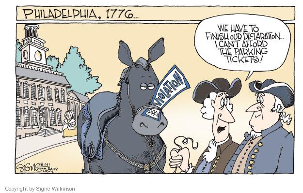 Signe Wilkinson  Signe Wilkinson's Editorial Cartoons 2011-08-05 independence