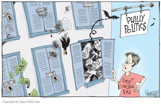 Cartoonist Signe Wilkinson  Signe Wilkinson's Editorial Cartoons 2011-09-26 reform