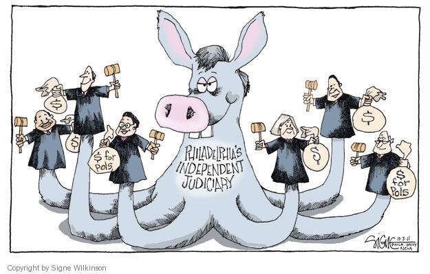 Signe Wilkinson  Signe Wilkinson's Editorial Cartoons 2011-10-03 political system
