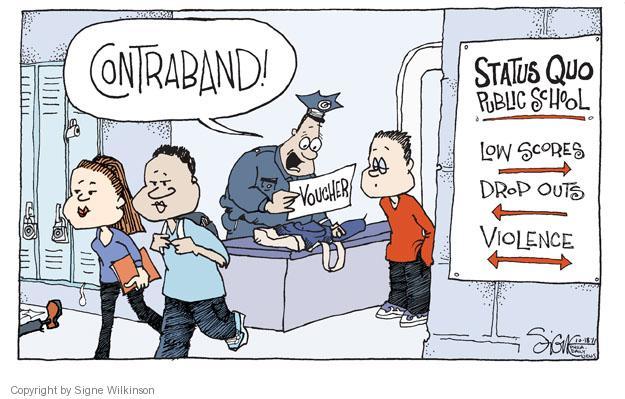 Cartoonist Signe Wilkinson  Signe Wilkinson's Editorial Cartoons 2011-10-18 test