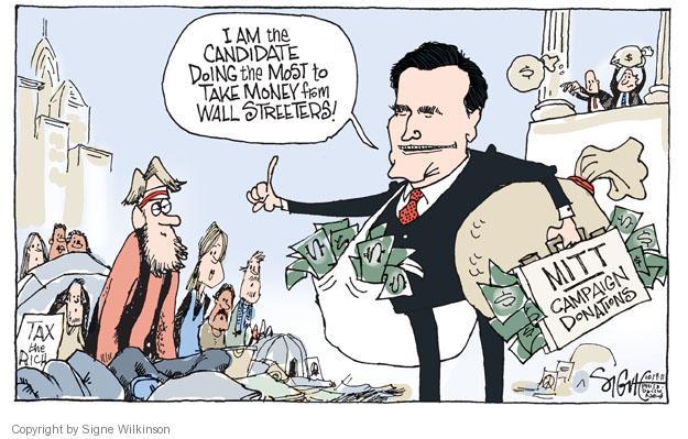 Cartoonist Signe Wilkinson  Signe Wilkinson's Editorial Cartoons 2011-10-19 presidential