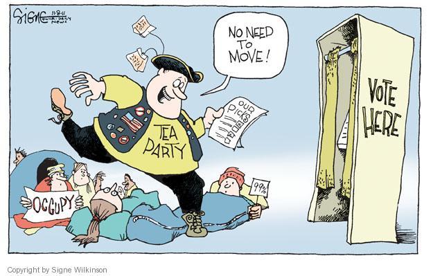 Signe Wilkinson  Signe Wilkinson's Editorial Cartoons 2011-11-08 candidate