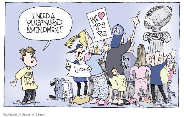 Signe Wilkinson  Signe Wilkinson's Editorial Cartoons 2011-11-11 riot