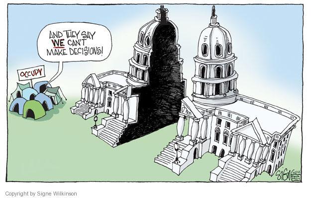 Signe Wilkinson  Signe Wilkinson's Editorial Cartoons 2011-11-22 capitol building