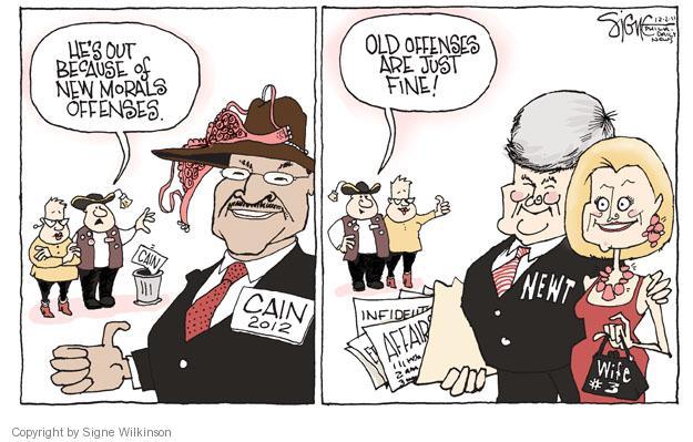 Signe Wilkinson  Signe Wilkinson's Editorial Cartoons 2011-12-02 GOP