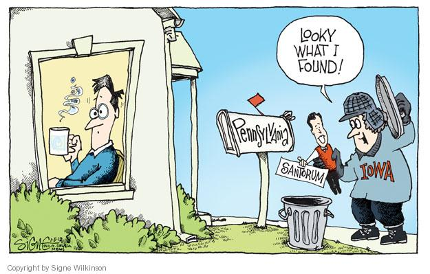 Signe Wilkinson  Signe Wilkinson's Editorial Cartoons 2012-01-05 GOP