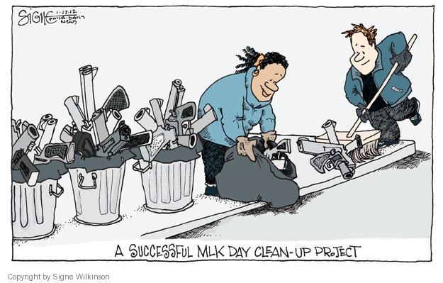 Signe Wilkinson  Signe Wilkinson's Editorial Cartoons 2012-01-17 Luther