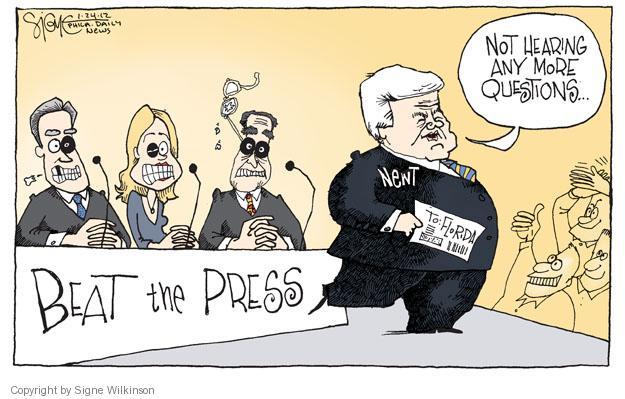 Signe Wilkinson  Signe Wilkinson's Editorial Cartoons 2012-01-24 GOP