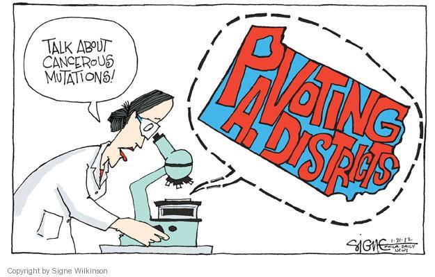 Signe Wilkinson  Signe Wilkinson's Editorial Cartoons 2012-01-31 cancer