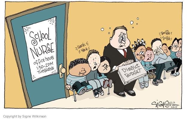Signe Wilkinson  Signe Wilkinson's Editorial Cartoons 2012-02-03 sickness