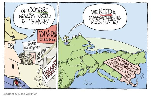 Signe Wilkinson  Signe Wilkinson's Editorial Cartoons 2012-02-08 moderate republican