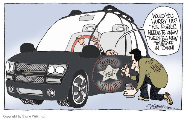Signe Wilkinson  Signe Wilkinson's Editorial Cartoons 2012-02-28 vehicle