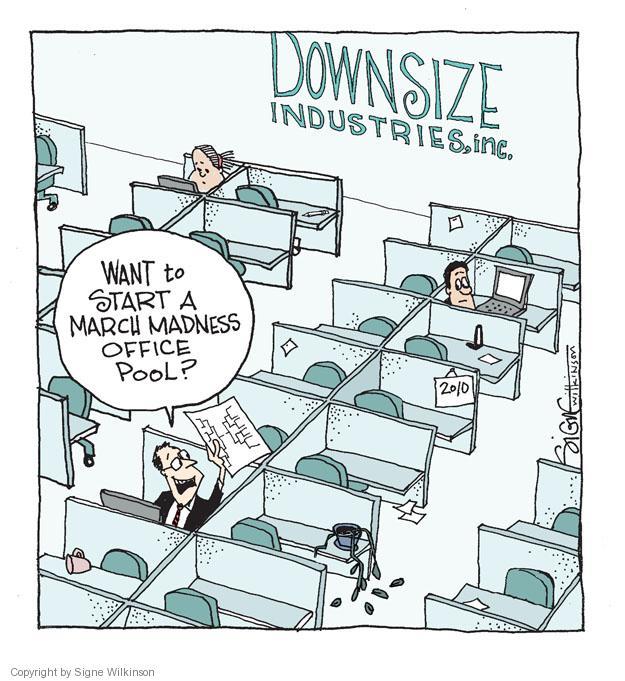 Cartoonist Signe Wilkinson  Signe Wilkinson's Editorial Cartoons 2012-03-17 unemployment