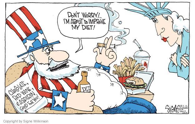 Signe Wilkinson  Signe Wilkinson's Editorial Cartoons 2012-04-02 red