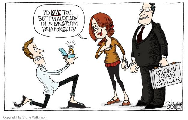 Cartoonist Signe Wilkinson  Signe Wilkinson's Editorial Cartoons 2012-04-26 finance