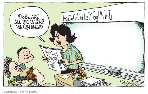 Cartoonist Signe Wilkinson  Signe Wilkinson's Editorial Cartoons 2012-05-03 finance