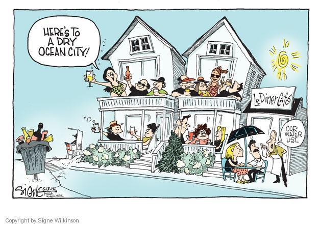 Signe Wilkinson  Signe Wilkinson's Editorial Cartoons 2012-05-13 ocean water