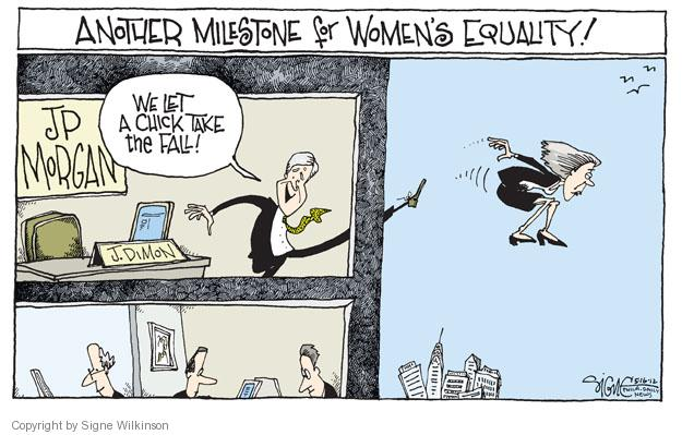 Cartoonist Signe Wilkinson  Signe Wilkinson's Editorial Cartoons 2012-05-16 fall