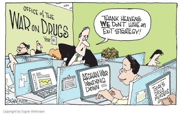 Cartoonist Signe Wilkinson  Signe Wilkinson's Editorial Cartoons 2012-06-12 strategy